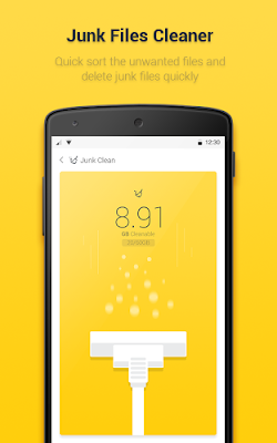 perawatan android - Yellow Booster APK