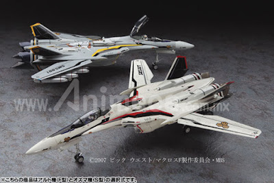 Messiah VF-25F/S 1/72 Model Kit Macross Frontier