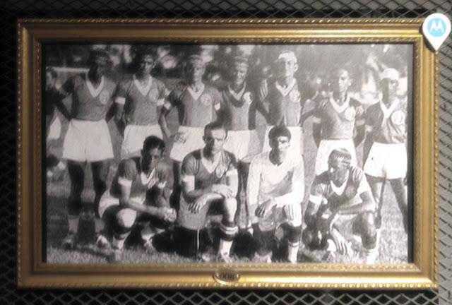 O América na Exposição do Museu do Futebol na Área