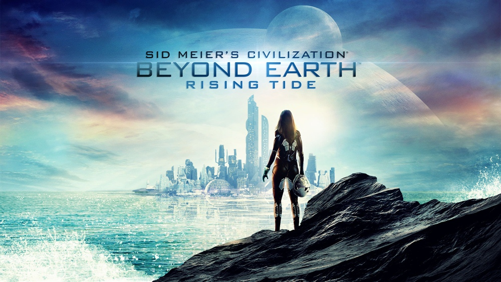 Sid Meier's Civilization Beyond Earth Rising Tide Poster