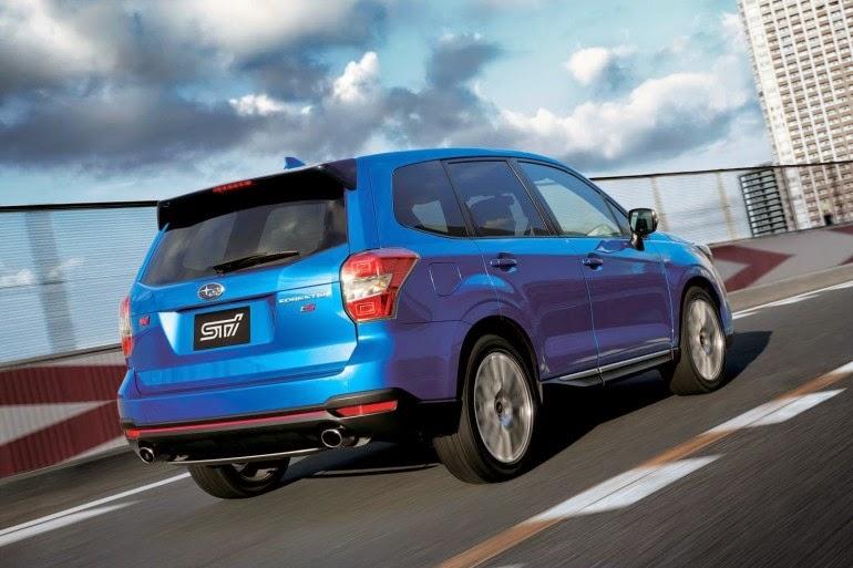 Subaru Forester 2014-2015 модельного года