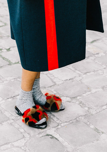 socks and sandals street style