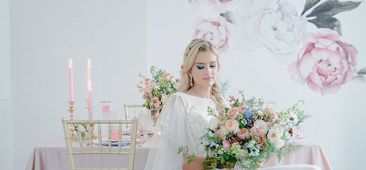 Must-See Blush and Blue Wedding Ideas