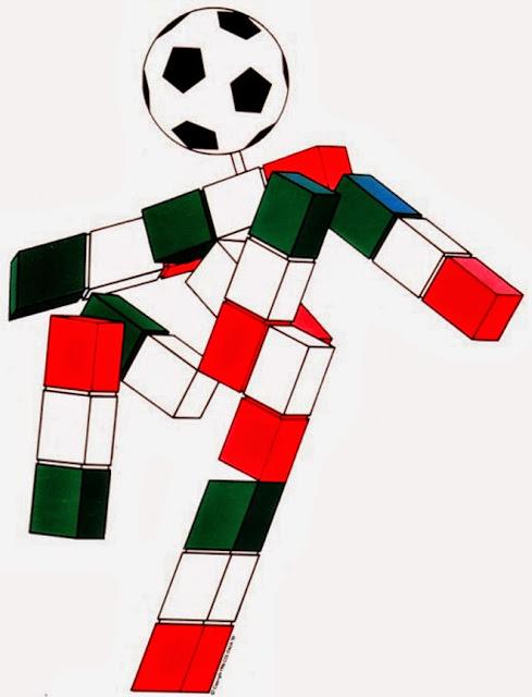 Ciao Mascota del Mundial de Futbol año 1990 Italia