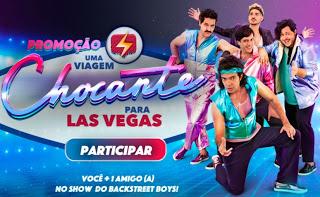 Promoção Uma Viagem Chocante Para Las Vegas!