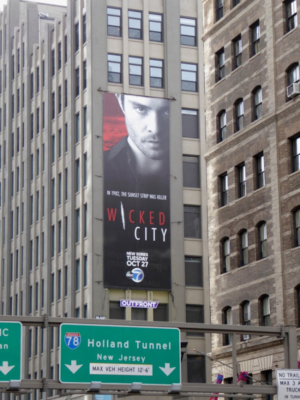 Wicked City series launch billboard NYC