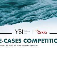 Young Sustainable Impact E-Cases Competition 2017 (Award Prize $5,000)