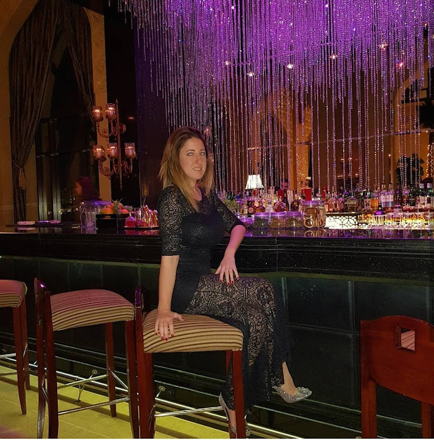 Abu Dhabi, bar dell'hotel Shangri-la. Alessia Siena