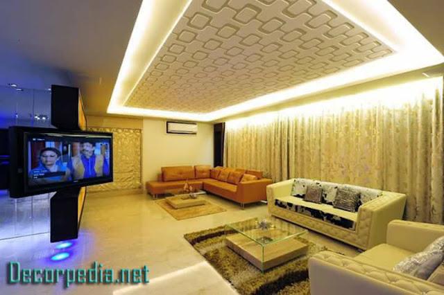 pop design, pop false ceiling design for living room and hall, suspended ceiling design