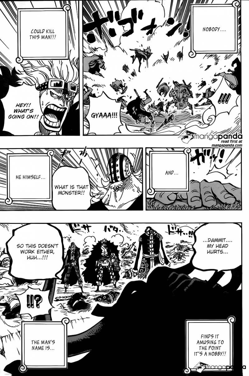 One Piece Ch 795: Suicide