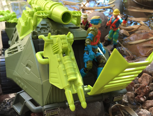 1993 Monster Blaster APC, Mega Marines, Mirage, Eco Warriors Outback Variant, Bazooka