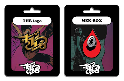 THB Comic Book Series T-Shirts & Enamel Pins by Paul Pope x Nakatomi