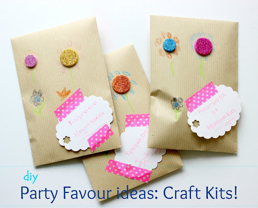 DIY Craft Kits for little ones....