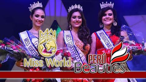 Miss World Guatemala 2017 / 2018