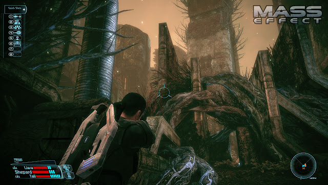 Screenshot from Mass Effect