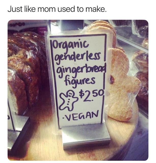 Organice genderless gingerbread figures - vegan - Just Like Mom Used To Make