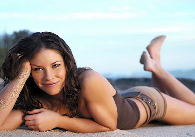 evangeline lilly workout images photos movie