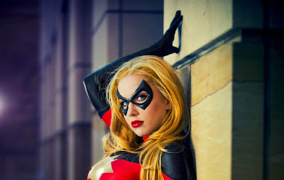 Moonstone Ms.Marvel cosplay