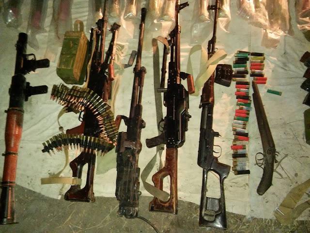 схрон с оружием
