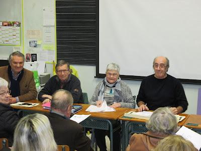 AG 2016, Gérard Gronfier et le bureau