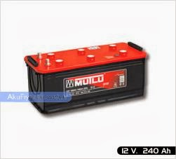 mutlu akü ağır hizmet serisi 12 volt 240 amper