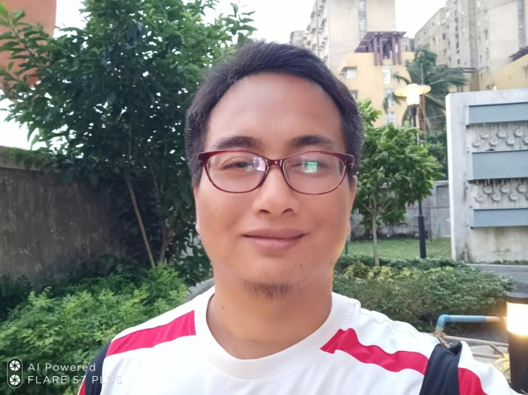 Cherry Mobile Flare S7 Plus Front Camera Sample - Selfie with Face Beauty