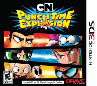 Cartoon Network Punch Time Explosion, 3ds, Español