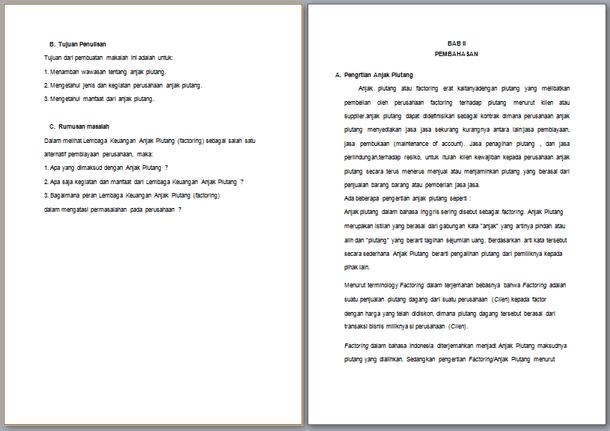 Contoh Essay Ekonomi Akuntansi