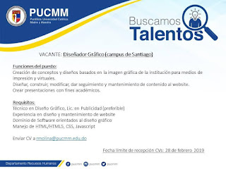 Vacante disponible pucmm