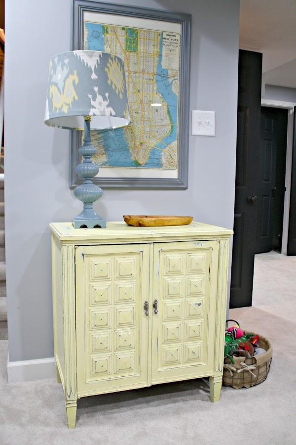 Vintage cabinet for storage