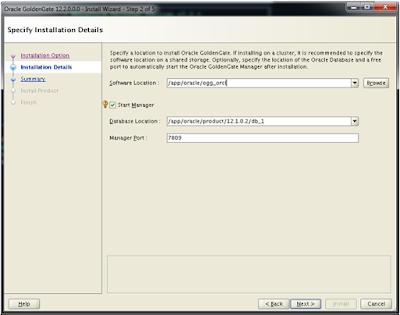 Oracle Goldengate 12c Installing Oracle Goldengate 12c