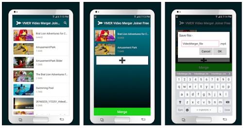 Cara menggabungkan dua video menjadi satu layar di Android