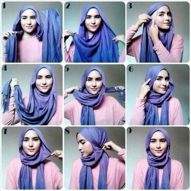 Hijab Pashmina Lilit