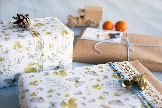 נייר עטיפה למתנות - סטודיו מישקה