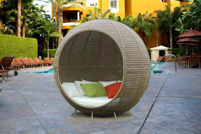 Melon Outdoor Wicker Chair