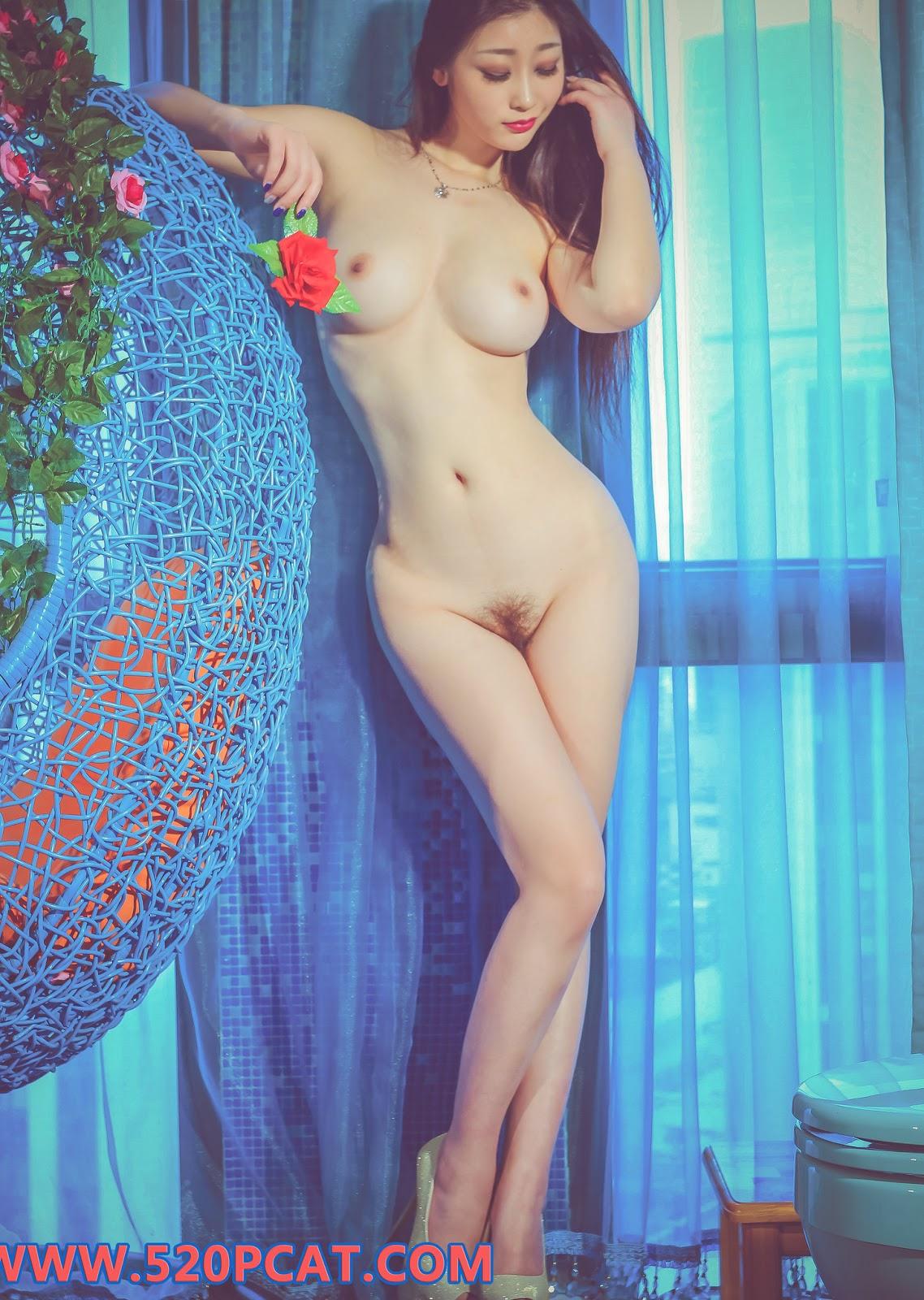 Chinese Model 妲己_Toxic Nude Photoshoot (39 Pict)