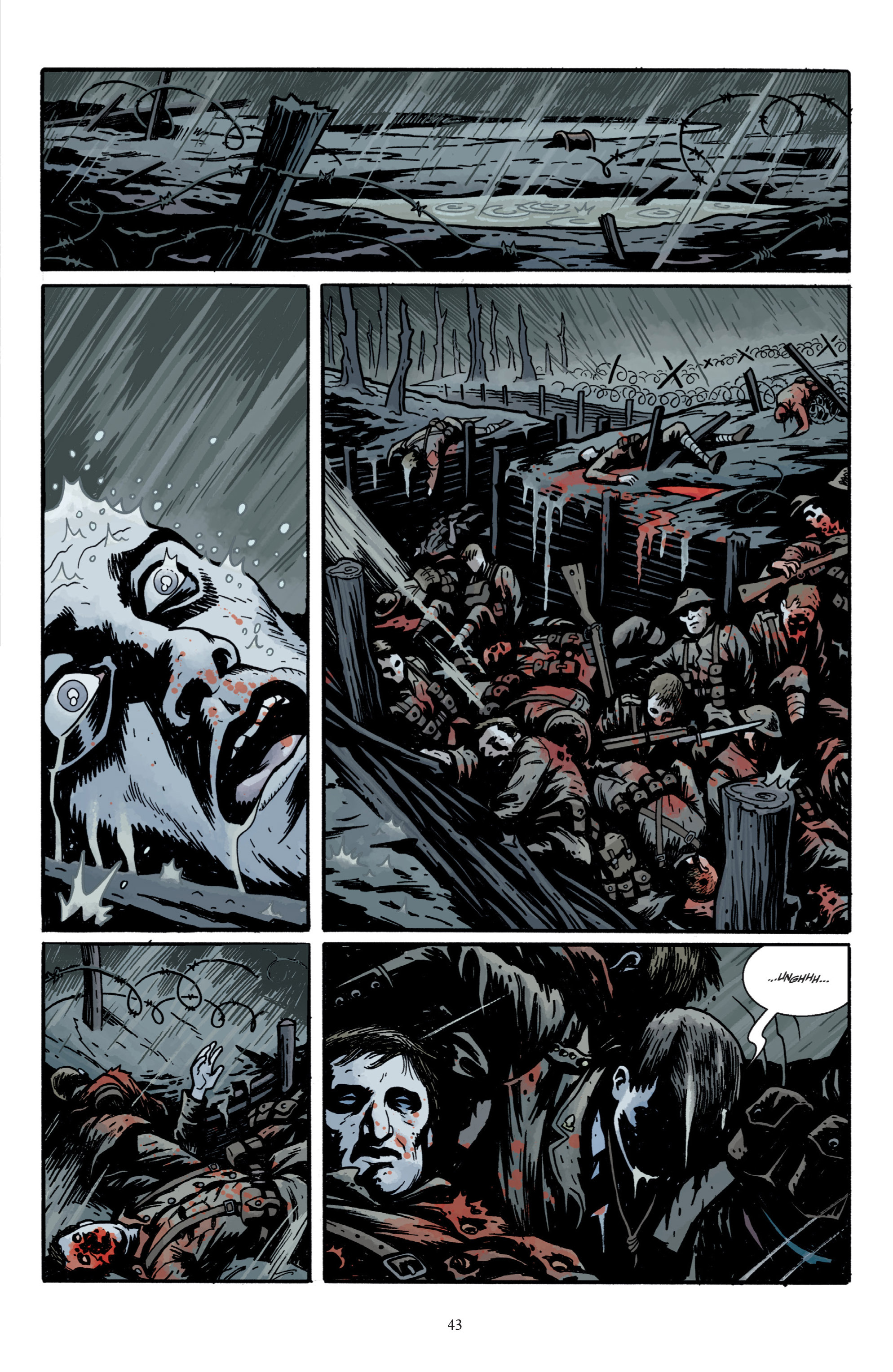 Read online Baltimore: The Plague Ships comic -  Issue # TPB - 45