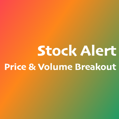 Stock Alert on Price & Volume Breakout @ SG  ShareInvestor