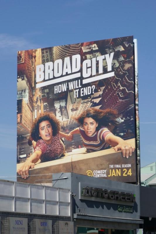 Broad City final season 5 billboard