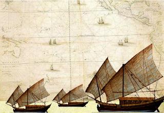 Konstruksi pada relief kapal