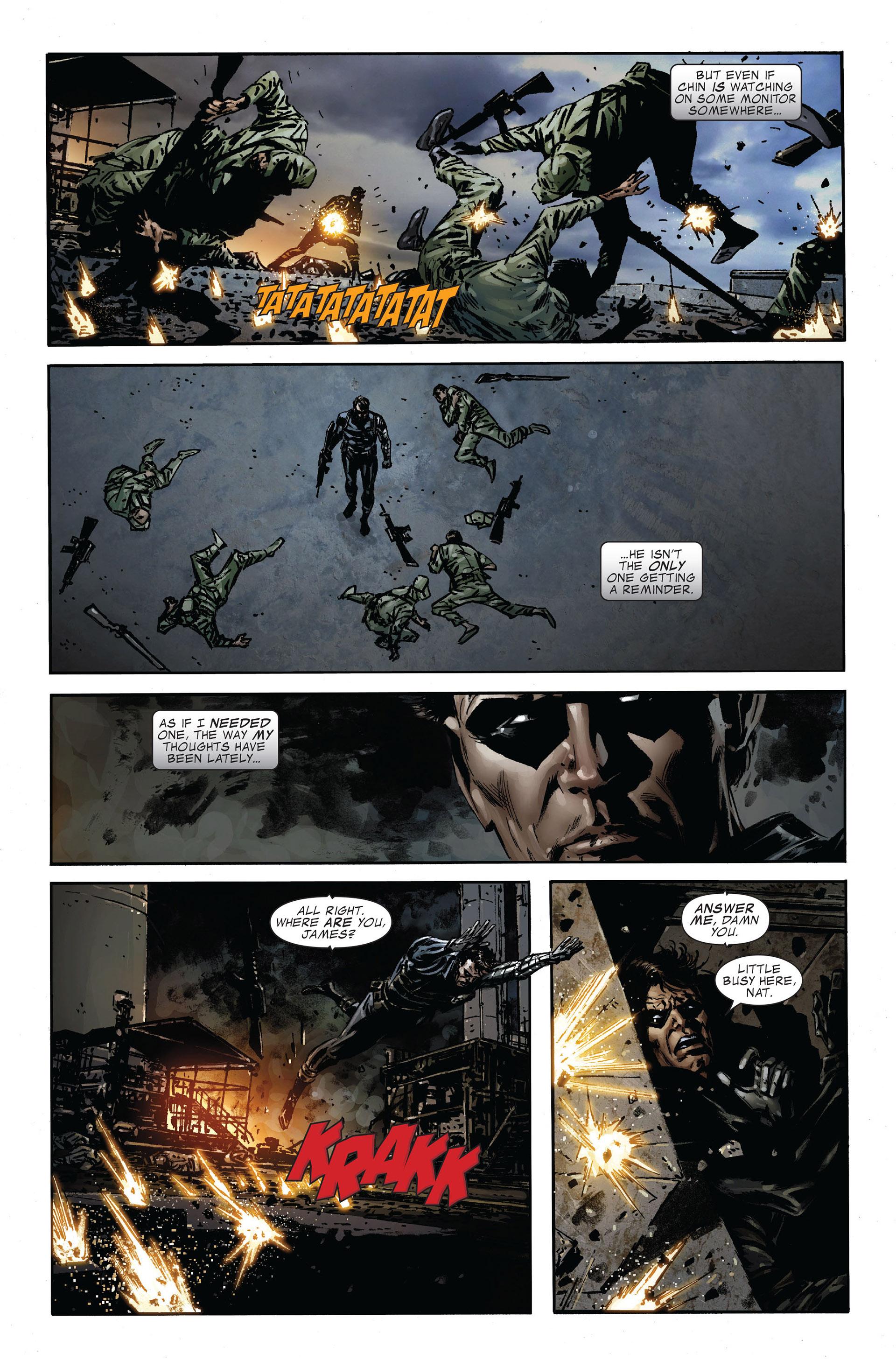 Read online Captain America (2005) comic -  Issue #47 - 6