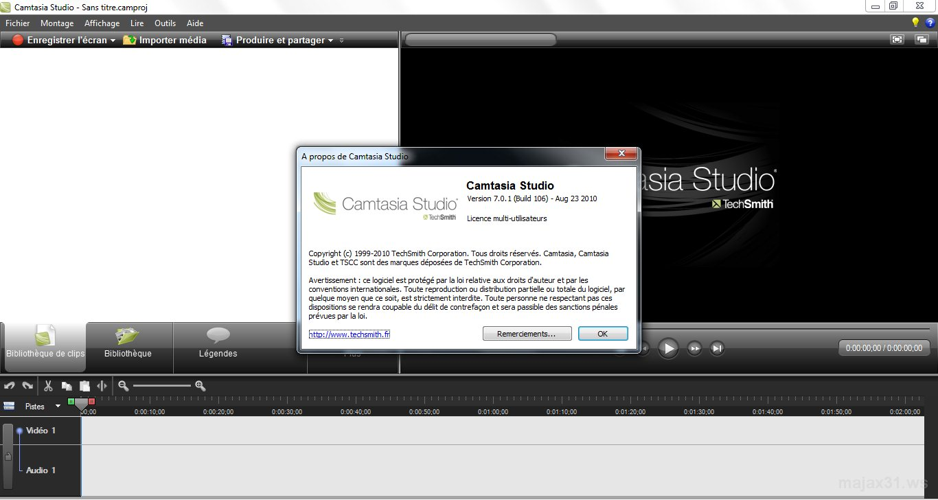 Télécharger camtasia studio 8.3.0 crack