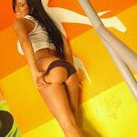Andrea Rincon, Selena Spice Galeria 32 : Blusa Blanca y Cachetero Negro Foto 104