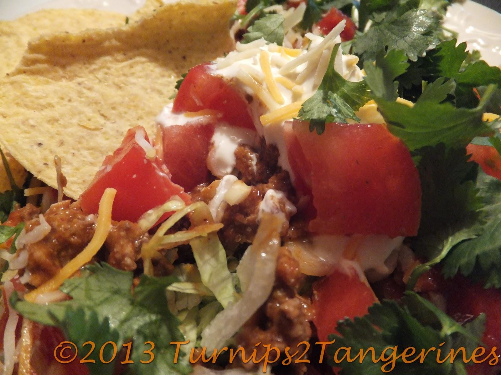 Taco Time Turnips 2 Tangerines