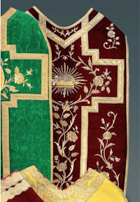 French Stylings: Chasuble Designs from Nineteenth Century France