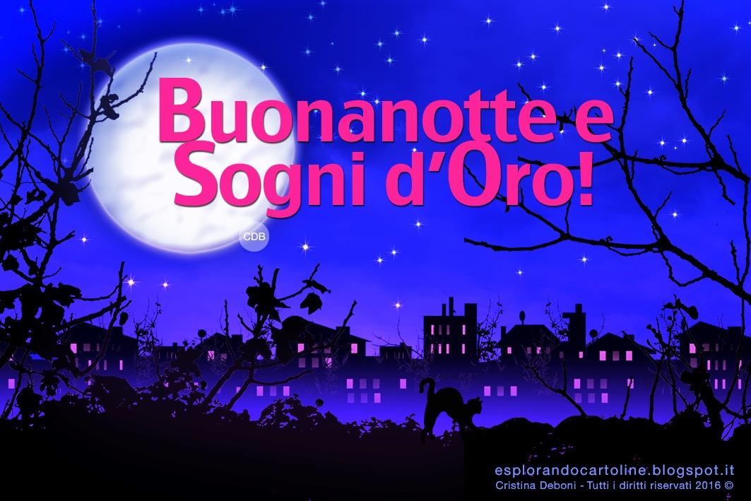 CDB Cartoline per tutti i gusti: Cartolina BUONANOTTE e Sogni d ...