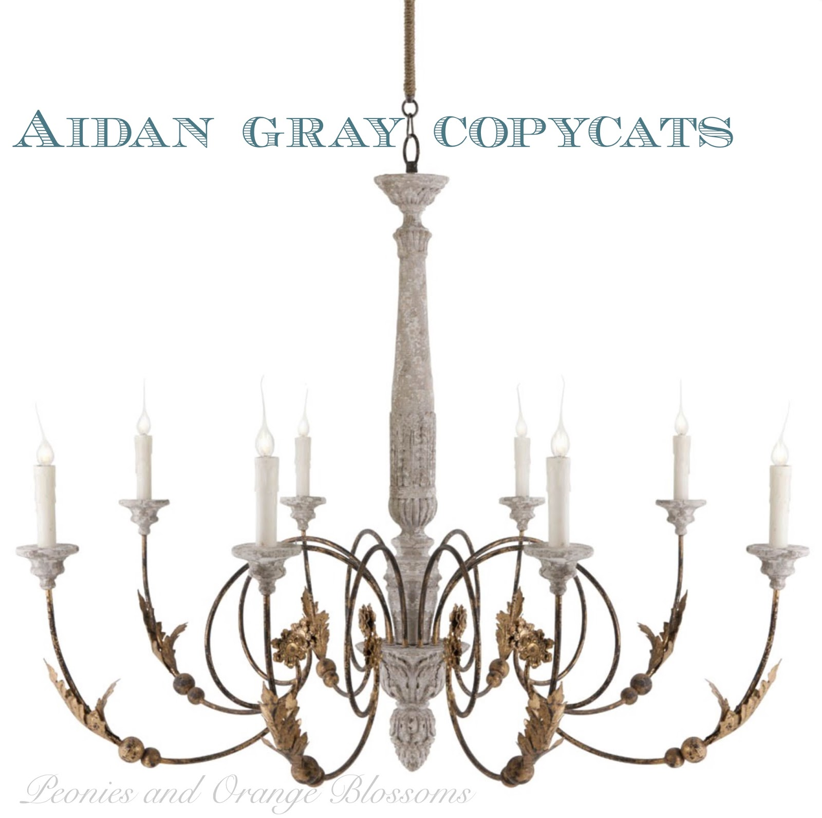 Aidan Gray Copycat Chandeliers For Less By Restoration Hardware
