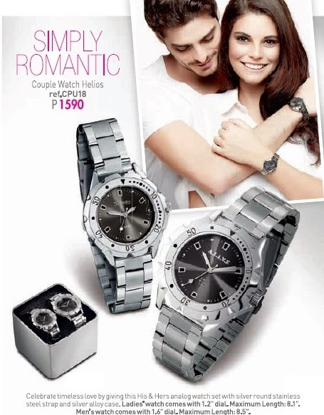 My Little Angels Online Shop Timeless Collections Couple Watch Helios By Alive Sophie Paris Simply Romantic
