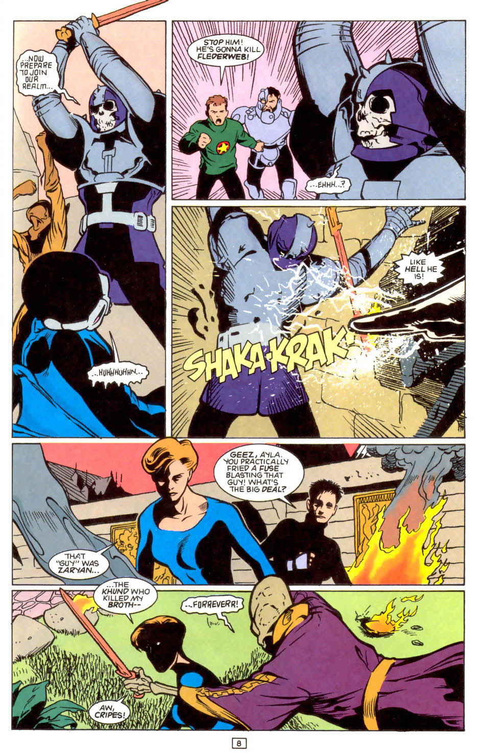 Legion of Super-Heroes (1989) 47 Page 8