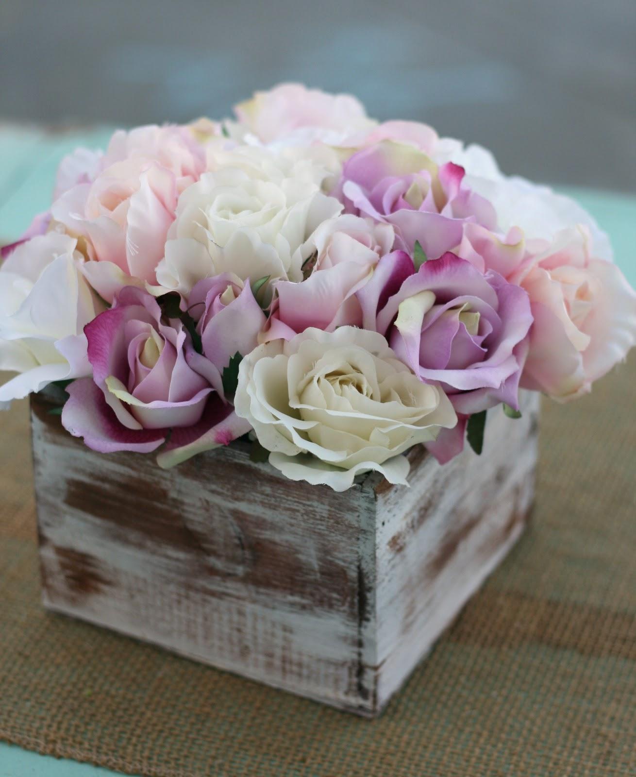 Rustic Wedding Ideas And Arrangements: Morgann Hill Designs: Shabby Chic Rustic Flower Bouquet